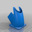 7864365bd74f13cccd2d89ac18baa658.png Download free STL file Improved 2 in 1 Fan duct E3Dv6 • 3D printable template, damiendc50