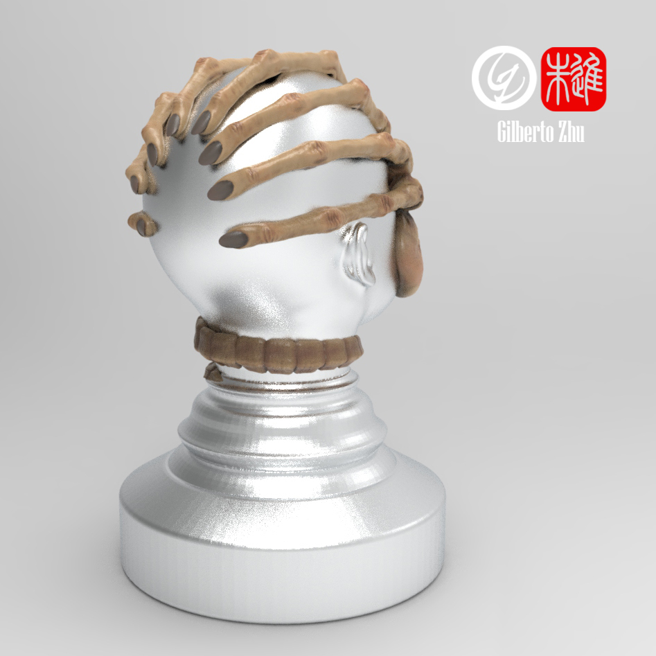 facehugger.tamper.2.jpg Download free STL file Facehugger Coffee Tamper - Compactador de cafe • 3D print model, GilbertoZhu