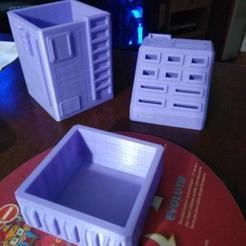 Download free 3D printing templates MARS - Desk Organizer Collection, jamitahitajam