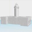 Download free 3D printing templates Faro de Caja de Muertos, gadolfob612