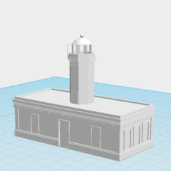 Screen Shot 2020-06-29 at 11.08.20 PM.png Download free STL file Faro de Punta Figuras, Arroyo • 3D printing model, gadolfob612
