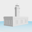 Download free 3D printing templates Faro de Punta Figuras, Arroyo, gadolfob612