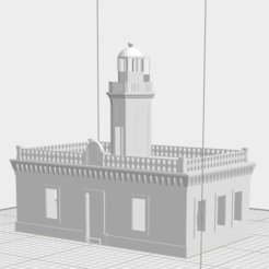 Screen Shot 2020-02-02 at 12.04.35 PM.png Download free STL file Faro de Punta Meseta, Guánica, Puerto Rico • 3D printer template, gadolfob612