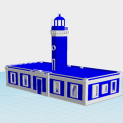 Download free 3D print files Faro de Punta Tuna, Maunabo, gadolfob612