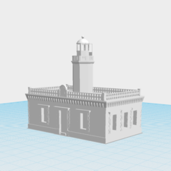 Download free 3D model Faro de Punta Higuero, gadolfob612
