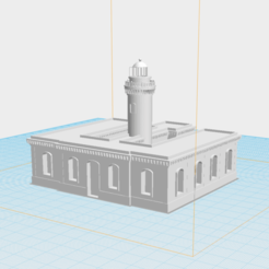 Screen Shot 2020-02-18 at 2.21.26 AM.png Download free STL file Faro de Culebrita • 3D print model, gadolfob612