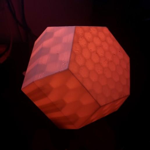 Télécharger STL Boîte à lumière en nid d'abeille cachée, 3DPrintProjectAthens