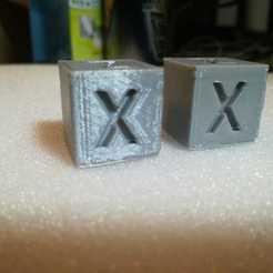Descargar diseños 3D gratis Benchmark Cube - Cubo de prueba de impresora, FrostStudios