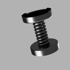 Impresiones 3D gratis Piernas amortiguadoras Anycubic Predator con resorte, FrostStudios