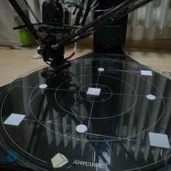 Descargar archivos 3D gratis Prueba de nivelación de la cama, FrostStudios