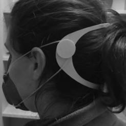 Descargar Modelos 3D para imprimir gratis Descansa orejas para mascarillas mask, acembrero
