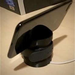 Télécharger fichier imprimante 3D gratuit Soutien pour la montre et l'Iphone 7plus, acembrero
