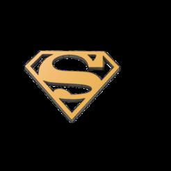 Descargar modelos 3D gratis El logo de Superman, lobasama