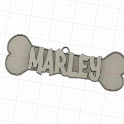 Médaillon Marley.png Télécharger fichier OBJ Médaillon Marley • Design imprimable en 3D, lobasama