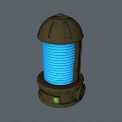 thermic_plasma_1.png Download free STL file W40K - terrain - Plasma station • 3D print design, slawek0538