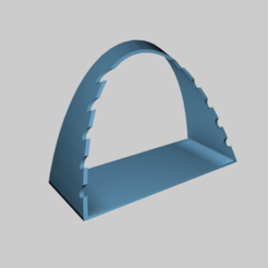 Impresiones 3D gratis Soporte de cepillo horizontal, slawek0538