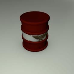 Descargar modelo 3D gratis Warhammer 40K - terreno - Barril, slawek0538
