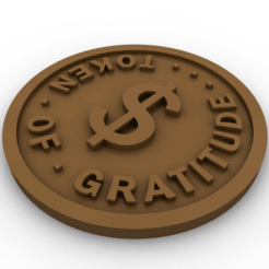 token.png Télécharger fichier STL Un témoignage de gratitude • Objet pour impression 3D, slawek0538
