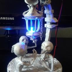 Descargar modelos 3D para imprimir Lámpara de sangre, Todo