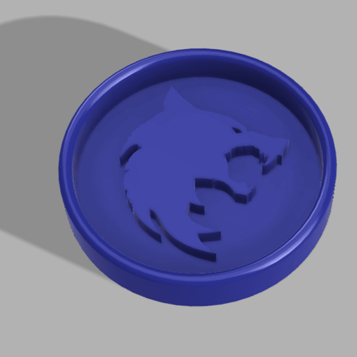 Download free 3D model The Witcher cookie cutter, d3dpublic