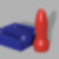ALL.png Download STL file SIMPLE BIG 7 INCH CONIC DILDO + MOLD!!! • 3D printing design, d3dpublic