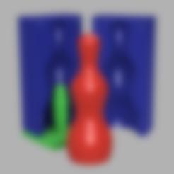 ALL.png Download STL file SIMPLE BIG 7 INCH DILDO + MOLD + SUCTION CUP + VAC-U-LOCK!!! • 3D printable design, d3dpublic