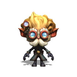 Download free STL file Heimerdinger League Of Legends • 3D printable template, brianmorossj3