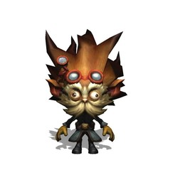 Download free STL file Heimerdinger LEAGUE OF LEGENDS burst • 3D printer model, brianmorossj3