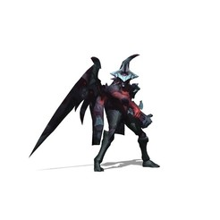 Download free 3D printer templates Aatrox LEAGUE OF LEGENDS, brianmorossj3