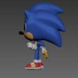 izquierda.png Download free OBJ file Sonic Funko Pop • 3D print template, Arthurjdb