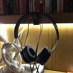 IMG_9388.jpg Télécharger fichier STL gratuit Support pour casque d'écoute de 38 mm • Plan imprimable en 3D, albertoxamin