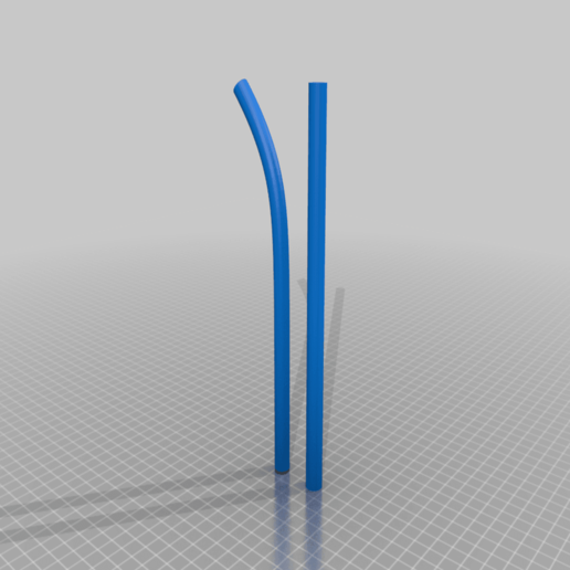 Download free STL file Straight and Bendy Straw • 3D printable design, lxranes