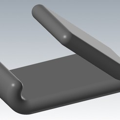 iso.jpg Download STL file Phone Stand • Model to 3D print, capscott77
