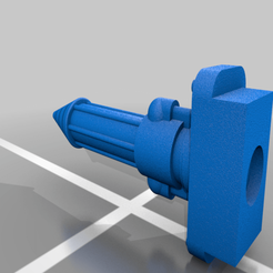 Melta_Cannon_test.png Download free STL file Chemical Cannon • 3D printing design, LuckyOne