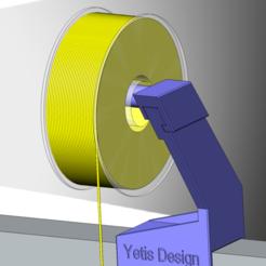 Spoolholder_Image_3-min.PNG Télécharger fichier STL Anycubic i3 Mega Spoolholder Directdrive • Design pour impression 3D, mehmet_yetis