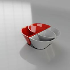 porta_piantine_2019-Jun-18_08-20-50PM-000_CustomizedView20160232112.png Download free STL file Doppio Vaso per Air Plants con supporto da tavolo • 3D printing design, liscazza