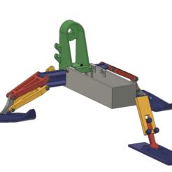 Capture_decran_2020-03-12_a_12.39.20.png Download free STL file RODAM Tri Skid Air Snow (New suspension) • 3D printable object, rodamyot