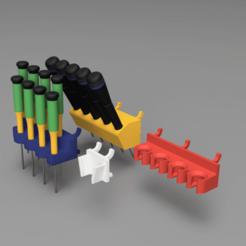 RODAM_PegBoard_Kit.png Télécharger fichier STL gratuit RODAM Pegboard Kit • Objet à imprimer en 3D, rodamyot