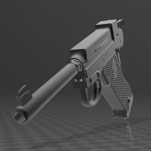 Download free 3D model Husqvarna M40, Wij