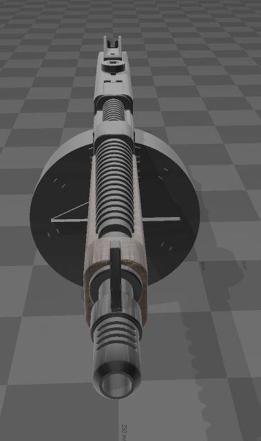 THOMPSON-GUN-3.JPG Télécharger fichier 3MF gratuit Pistolet Thompson avec tambour • Design pour imprimante 3D, Wij