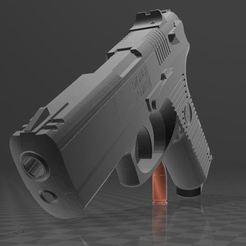 Download free 3D printer templates Ruger P95, Wij