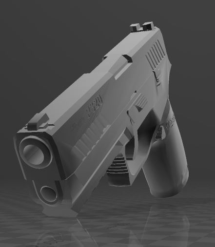 SIG SAUER P320c-1.JPG Download free 3MF file SIG SAUER P320c • 3D printable model, Wij