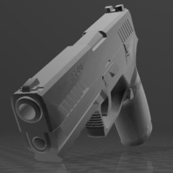 Download free 3MF file SIG SAUER P320c • 3D printable model, Wij