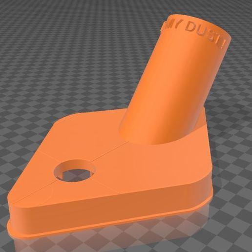 Duster-1.JPG Télécharger fichier 3MF gratuit Capteur de poussière de forage • Objet à imprimer en 3D, Wij
