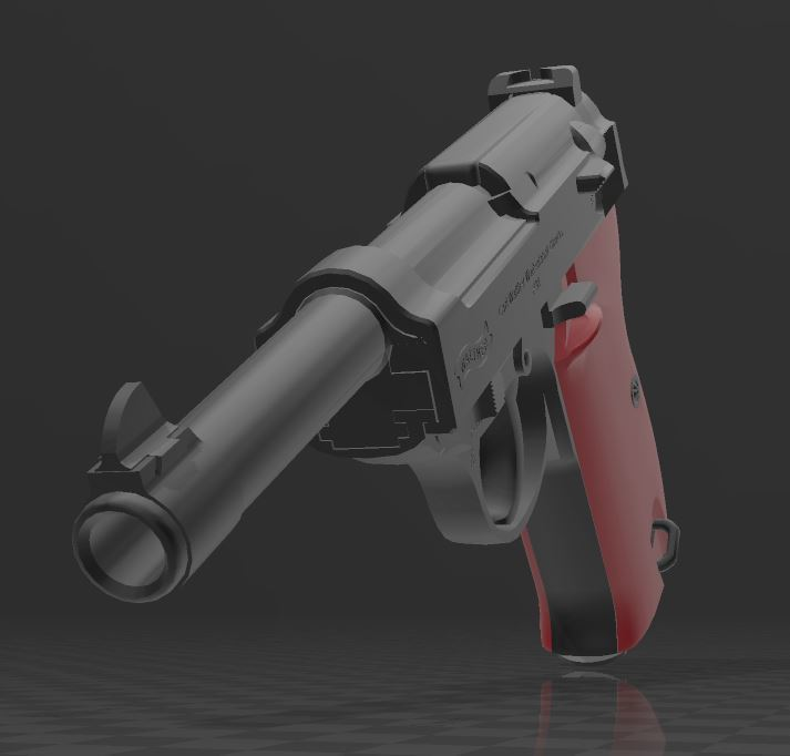 Walther-P38-1.JPG Télécharger fichier 3MF gratuit Walther P38 • Modèle imprimable en 3D, Wij