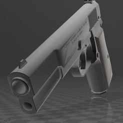 Download free 3D printer designs Browning Hi-Power, Wij