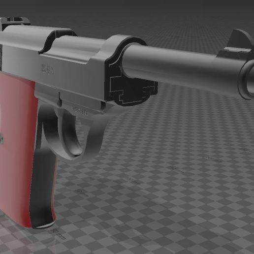 Walther-P38-3.JPG Télécharger fichier 3MF gratuit Walther P38 • Modèle imprimable en 3D, Wij