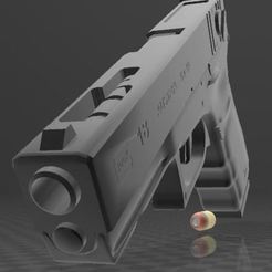 Download free STL GLOCK 18, Wij