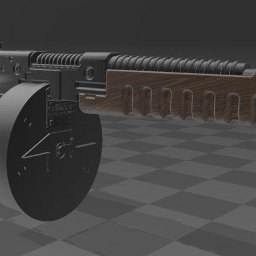 THOMPSON-GUN-4.JPG Télécharger fichier 3MF gratuit Pistolet Thompson avec tambour • Design pour imprimante 3D, Wij