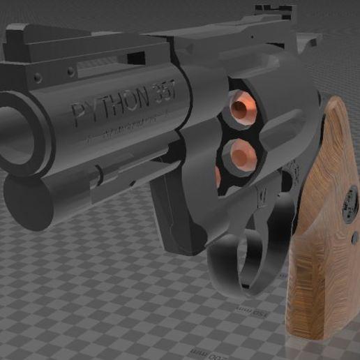Download free 3MF file Colt Python 2 inch • 3D printable design, Wij